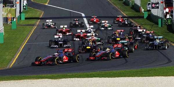 Sportweekend Button Dirigeert Australische Seizoensopener