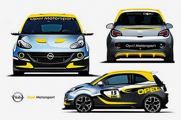 op naar opc versie opel adam cup r2 autowereld. Black Bedroom Furniture Sets. Home Design Ideas