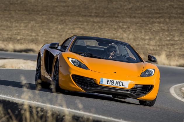 WEGTEST: McLaren MP4-12C Spider (2013)