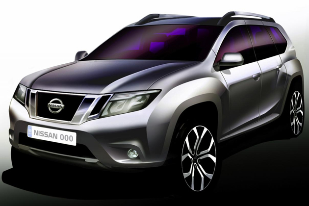 Nissan Terrano op Dacia Duster-basis