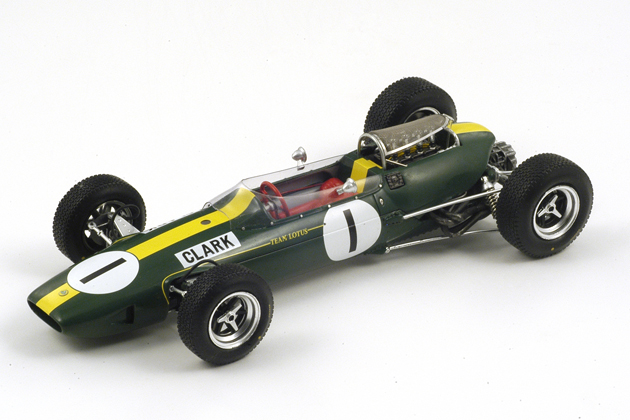 18S067 Lotus 33 No. 1 Winner German GP 1965 (World Champion 1965)