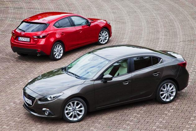 Mazda 3 & 3 Sedan (2013)