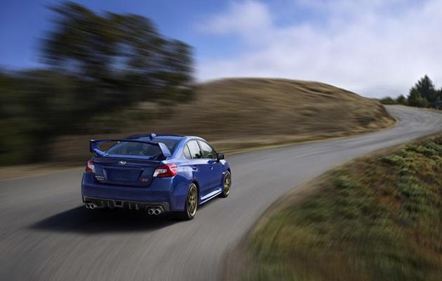 Autosalon Detroit 2014: Subaru WRX STI