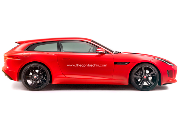 Dromen Van Jaguar F Type Shooting Brake Autowereld