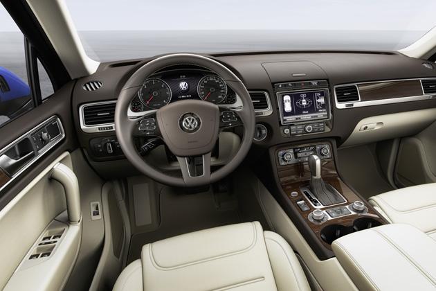 VolkswagenTouaregInterieur