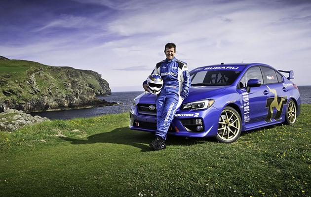 Mark Higgins / Subaru WRX STI / TT Isle of Man 2014