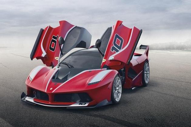 Nog iets extremer, de Ferrari LaFerrari XX K(1)