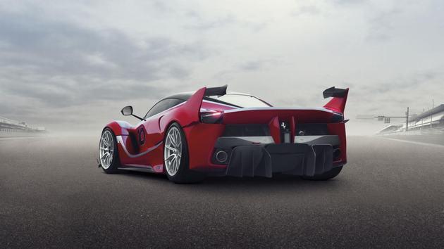 Nog iets extremer, de Ferrari LaFerrari XX K
