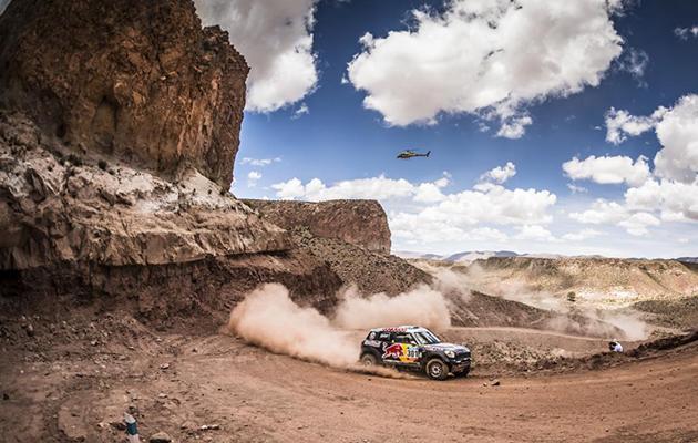 Dakar 2015 : Al-Attiyah (Mini)