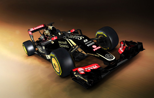 Lotus E23 Mercedes 2015