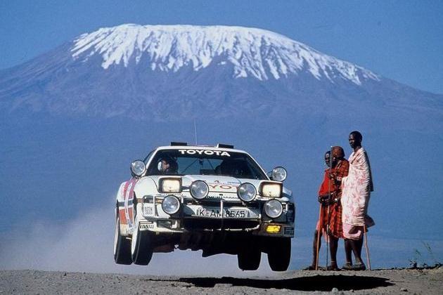 Toyota in de rally, een terugblik