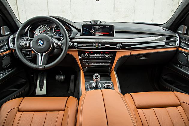 BMWX6MInterieur