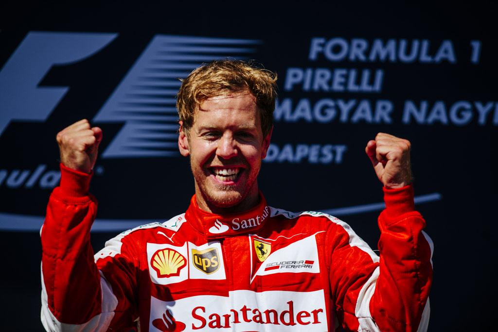 Sebastian Vettel Wint Formule 1 Spektakel In Hongarije