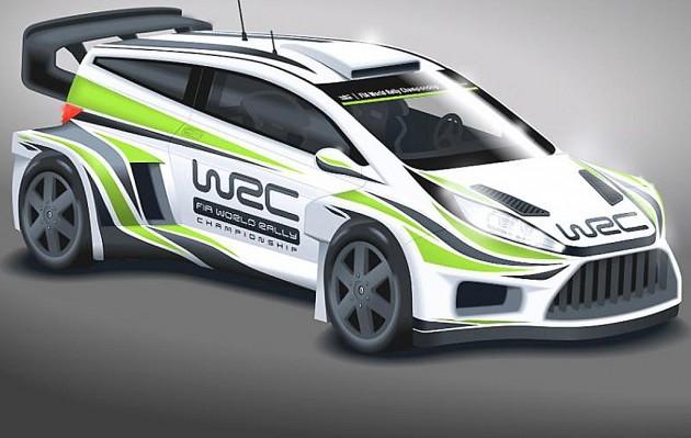 Ford Fiesta WRC Concept 2017