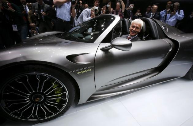 Matthias Mueller Porsche