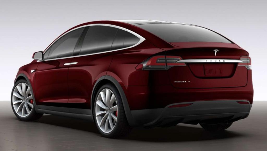 Tesla Model X Behoudt Vleugeldeuren Autowereld