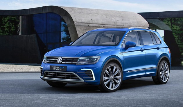 nieuwe vw tiguan ook als gte plug in hybrid autowereld. Black Bedroom Furniture Sets. Home Design Ideas