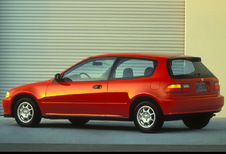 Honda Civic 3p - 1.3 DX (1992)