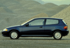 Honda Civic 3d - 1.3 DX (1992)