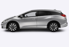 Honda Civic tourer - 1.6 i-DTEC Lifestyle (2016)
