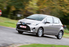 Toyota Yaris 5d - 1.5 VVT-i Hybrid Optimal Go (2014)