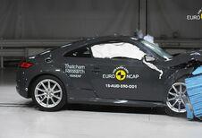 4 étoiles EuroNCAP pour l'Audi TT, 3 pour Trafic et Vivaro