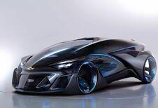 Chevrolet FNR Concept, cocon autonome