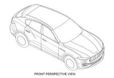 Maserati Levante: les dessins techniques interceptés