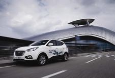 Le Hyundai ix35 à hydrogène à la vente en Belgique