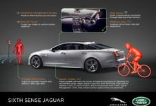 Jaguar Land Rover test zesde zintuig