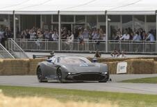 Aston Martin Vulcan : elle a roulé à Goodwood