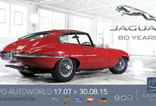 Expo Jaguar 80 Years à Autoworld