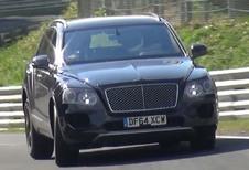 Bentley Bentayga : déjà présenté aux clients