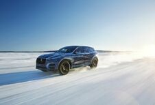 De Jaguar F-Pace in hoge en lage temperaturen