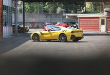 Une Ferrari F12 spéciale à Francfort