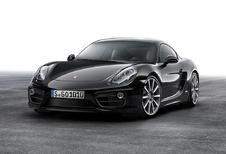 Porsche Cayman ook als Black Edition