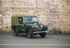 25 Land Rover Series I restaurés en vente