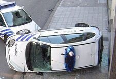 Les accidents de la police belge
