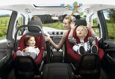 Auto buiten het werk: voornamelijk voor de kinderen