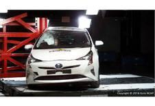 Toyota Prius krijgt vijf sterren van EuroNCAP