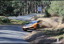 La Lamborghini Huracán mange-butte