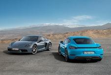 Nu ook 718-behandeling voor de Porsche Cayman