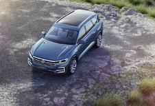 Volkswagen T-Prime GTE: toekomstige Touareg