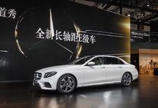 Mercedes Classe E : une version longue pour l'Empire du Milieu