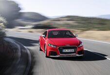 Audi TT RS: krachtige coupé en cabriolet