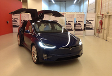 Tesla Model X landt in België