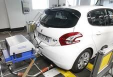 Résultats des tests d'émissions et de consommation en France
