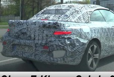 Mercedes E-Klasse Cabrio: in testfase