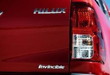 Un Toyota Hilux pour PSA