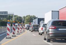 Belg rijdt te snel door werfzones